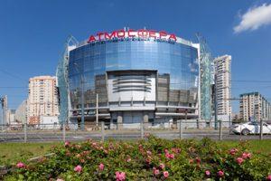 Строительство коммерческой недвижимости ТЦ Атмосфера в СПб