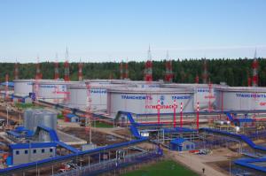 """Промышленное строительство нефтебазы компании """"Транснефть"""" в Усть-Луге"""