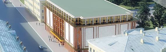 Начало строительства ТЦ «Звенигородский»