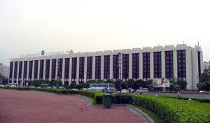 Строительство офисного центра Виктория Плаза в Петербурге