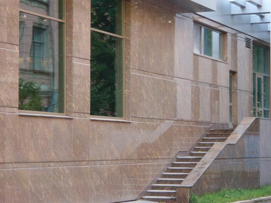 Адамант-строй, Тендер на устройство  фасадов  из  натурального камня, 1219