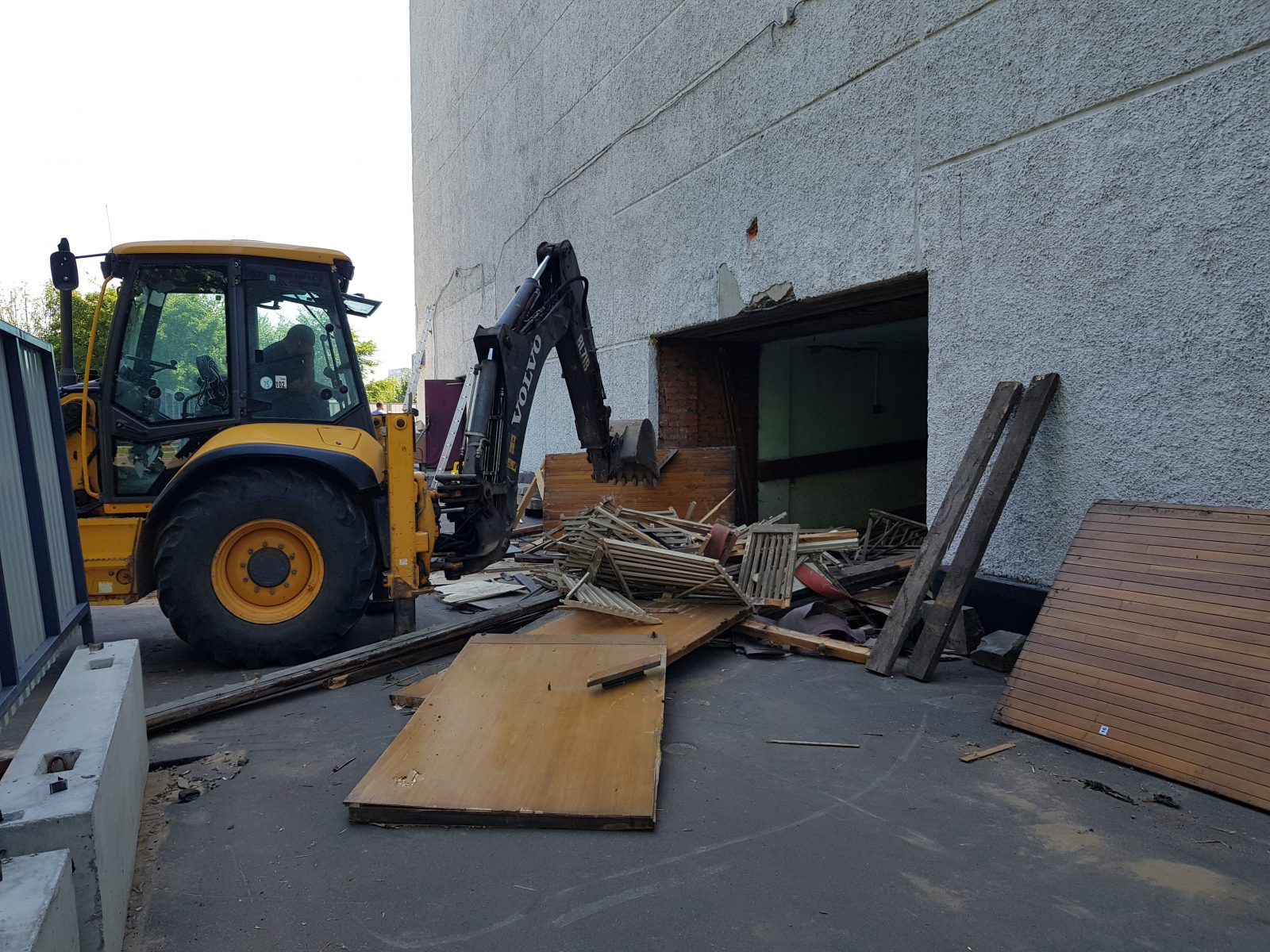 Реконструкции кинотеатра «Эльбрус»