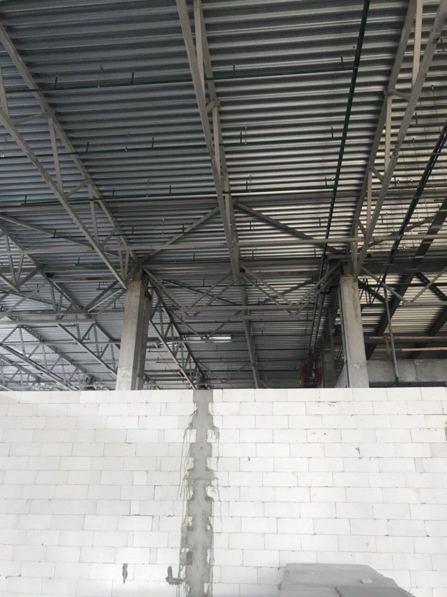 Ход строительства Многофункционального комплекса «Плазма».
