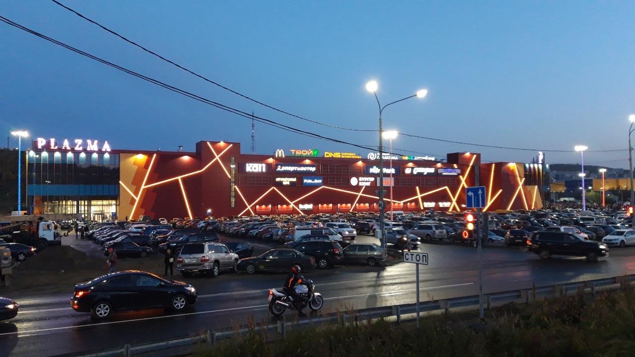 ООО «Адамант-Строй» закончило строительство Торгово-развлекательного комплекса «Plazma»