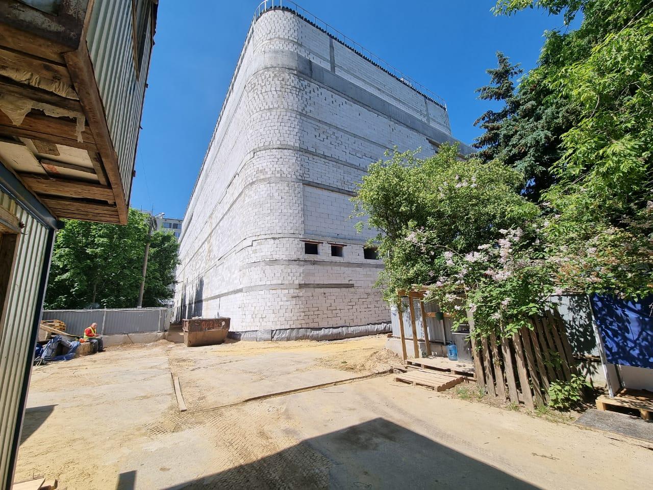Строительство комплекса Бирюсинка