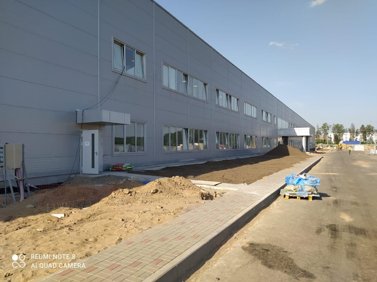 Продолжаются работы на проекте завода HYUNDAI