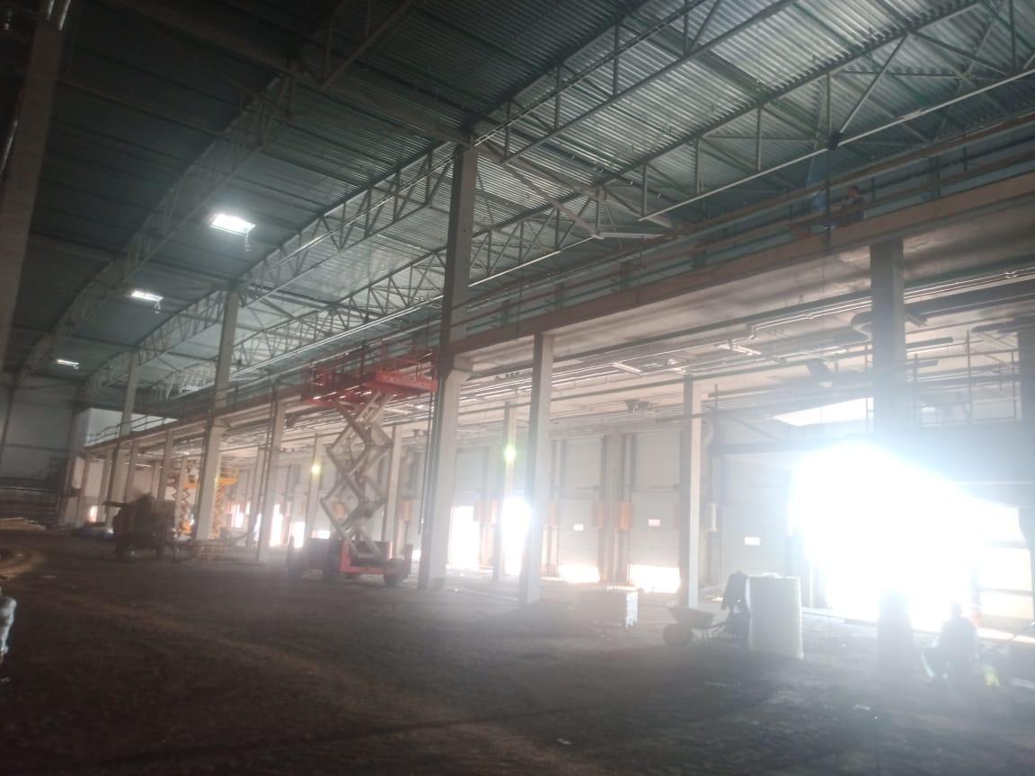 Осиновая Роща — очередной производственно-логистический комплекс, построенный Адамант-Строй