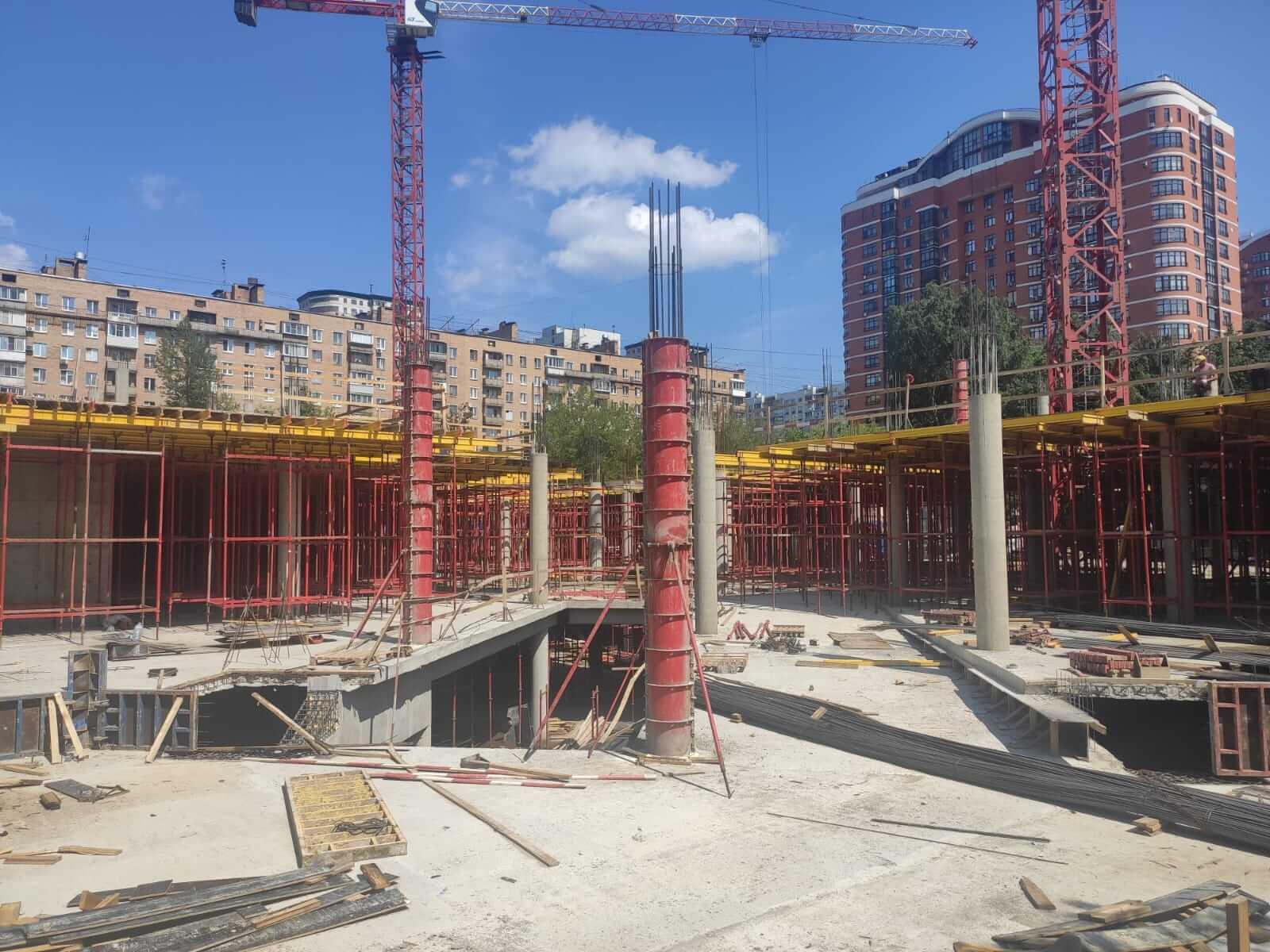 Новости со строительства комплекса Первомайский